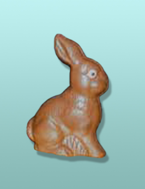 3D Chocolate Sentry Bunny