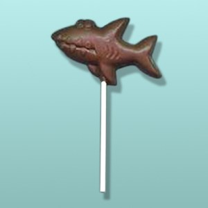 Chocolate Great White Shark Lolly II
