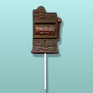 Chocolate Slot Machine Lolly