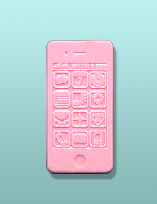 Chocolate Smart Phone Pink Party Favor