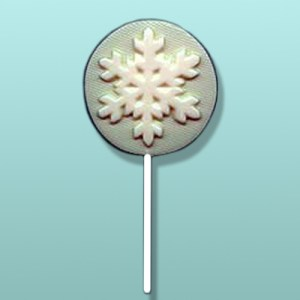 Chocolate Snowflake Lolly I