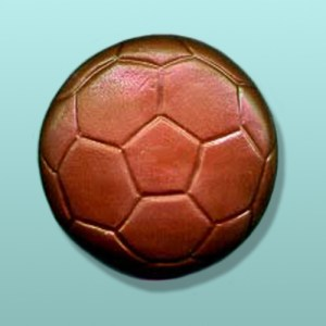 Chocolate Soccer Ball Large Favor