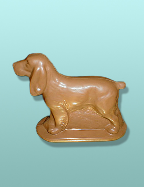3D Chocolate Springer Spaniel Dog