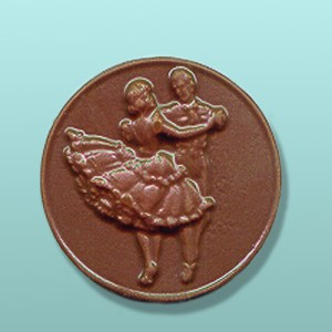 Chocolate Square Dancing Medallion