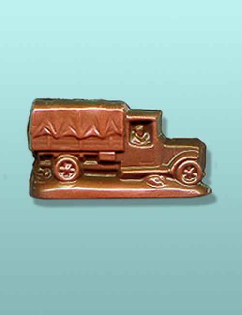 Chocolate Military Supply Truck Favor