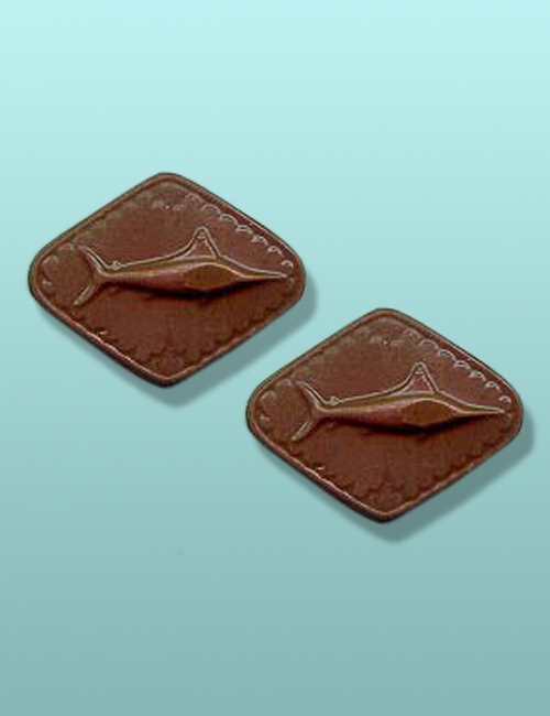 2 pc. Chocolate Swordfish Mini Favor