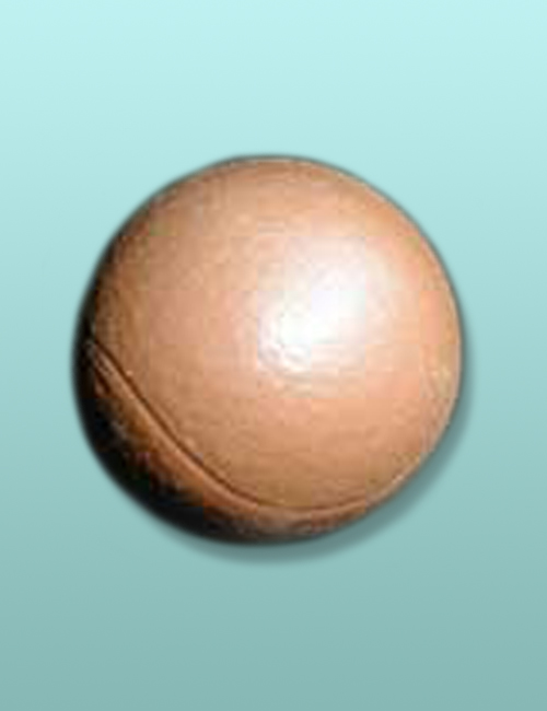 3D Solid Chocolate Tennis Ball