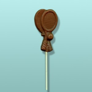 Chocolate Tennis Cross Racquet Favor