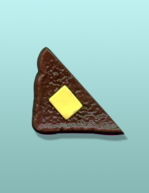 Chocolate Buttered Toast Party Favor