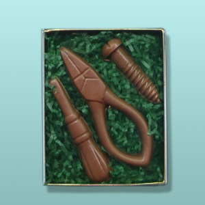 3 pc. Chocolate Tool Mini Gift Set