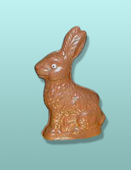 Chocolate Traditional Easter Bunny - Med.