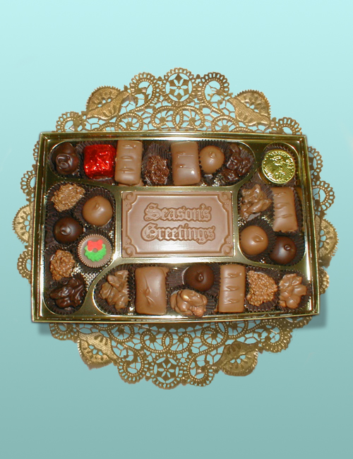 Season's Greetings Assortment - 1 Layer