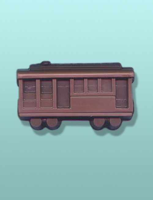 Chocolate Trolley Car Favor