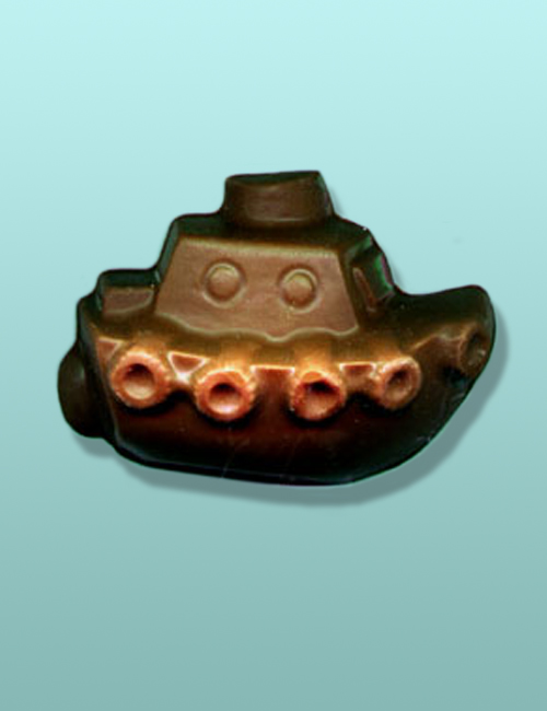 3D Chocolate Tug Boat Ship