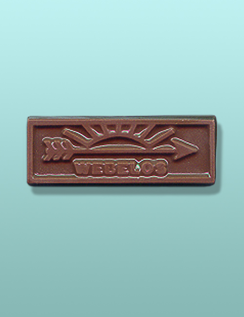 Chocolate Webelos Scout Emblem Favor