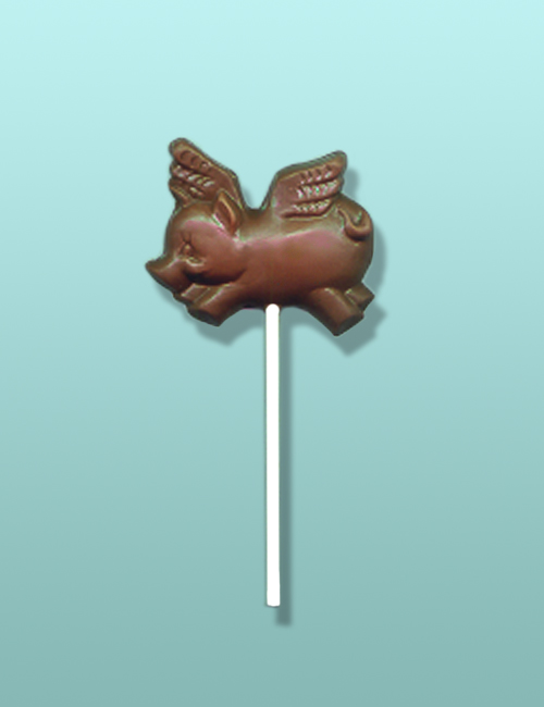 Chocolate Flying Pig Party Favor