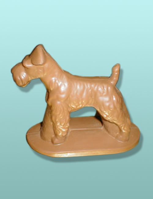 Wire Fox Terrier Dog3D - Large (1 pc. for $39.95) - The Chocolate Vault