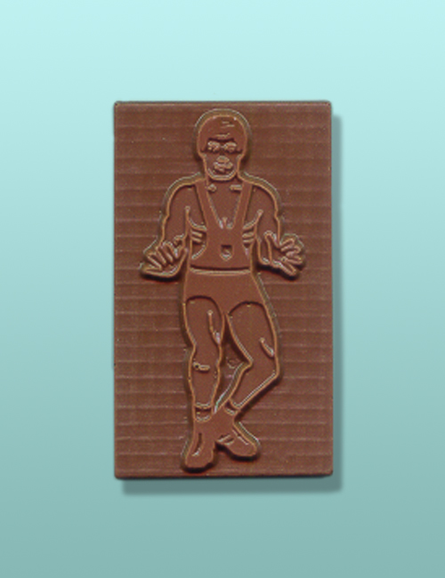 Chocolate Wrestling Bar Favor