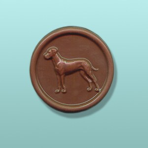 CHOCOLATE GREAT DANE DOG FAVORS