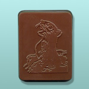 CHOCOLATE GROUNDHOG FAVORS