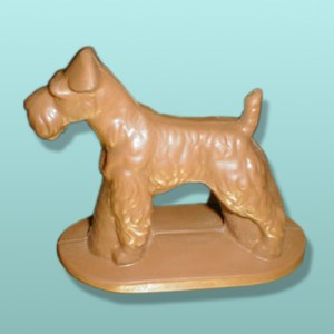CHOCOLATE WIRE FOX TERRIER DOG