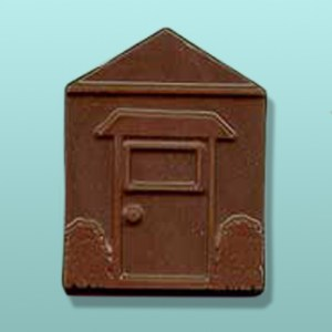 Chocolate Building Door Wall Favor