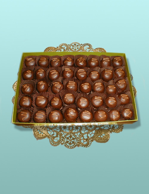 Chocolate Silk Truffle Assortment - 1 Layer