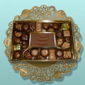 Sympathy Card Chocolate Assortment