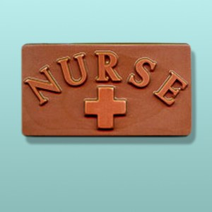 Chocolate Nurse Bar Favor