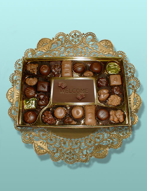 Welcome Card Chocolate Assortment