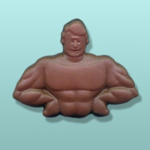 Chocolate Body Builder Favor