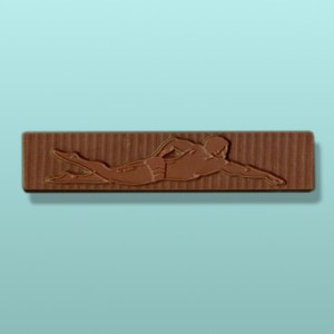 Chocolate Male Swimming Favor