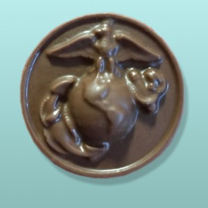 Chocolate Marines Medallion Favor II