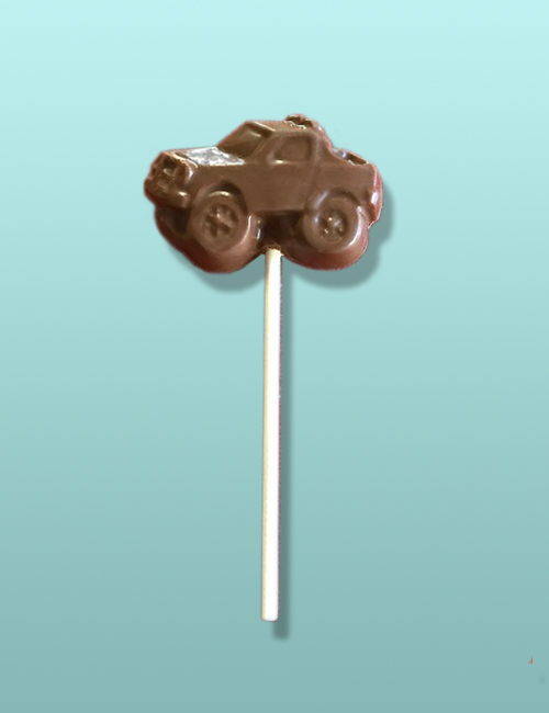 Chocolate 4 x 4 Pick-Up Truck