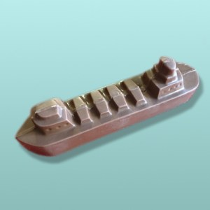 Chocolate Lake Freighter Ship