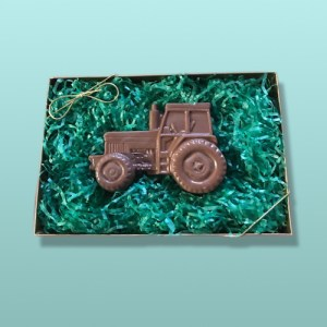 Chocolate Farm Tractor Gift Set