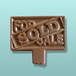 Chocolate Sold Sign Party Favor