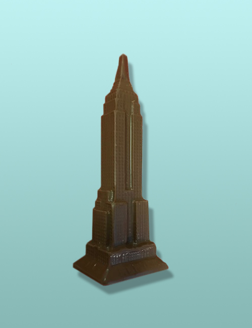 Chocolate Empire State Building Large