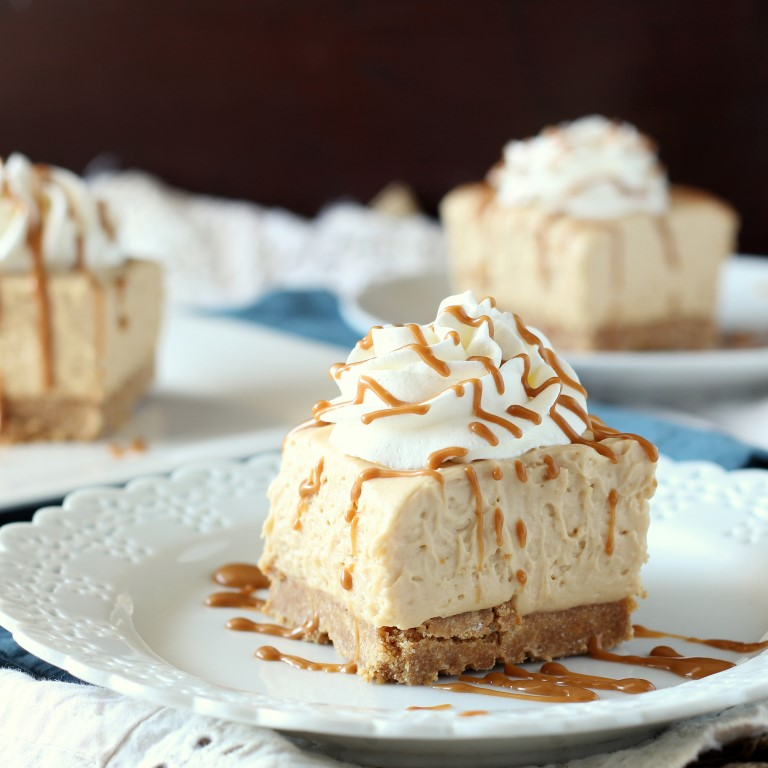 Biscoff No Bake Cheesecake Bars Chocolate With Grace