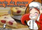 tarta queso frambuesa