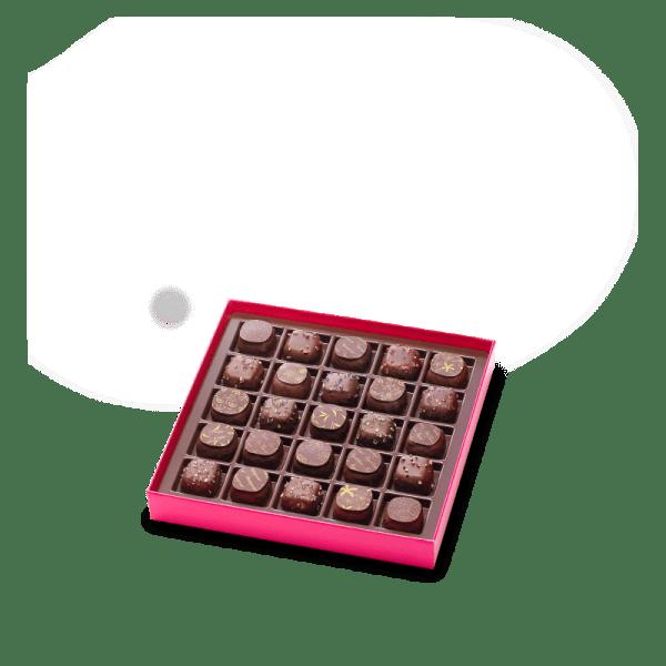 assortiment chocolat au lait_boite chocolats_coffrets_nantes sud loire
