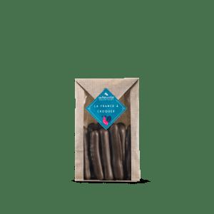 sachet orangettes-chocolat_de neuville_chocolats_noirs_lait