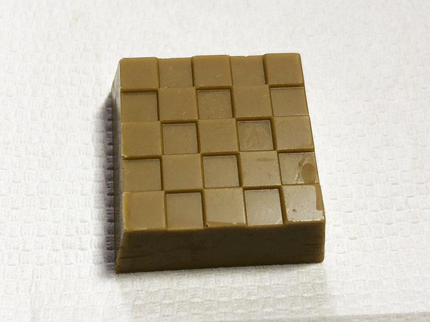 ほうじ茶色のチョコ