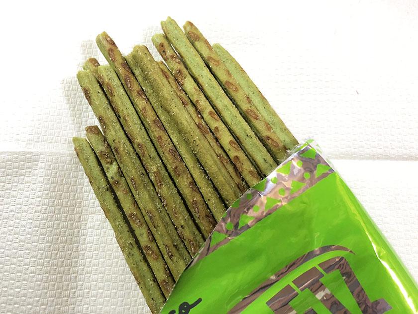 緑のプリッツ