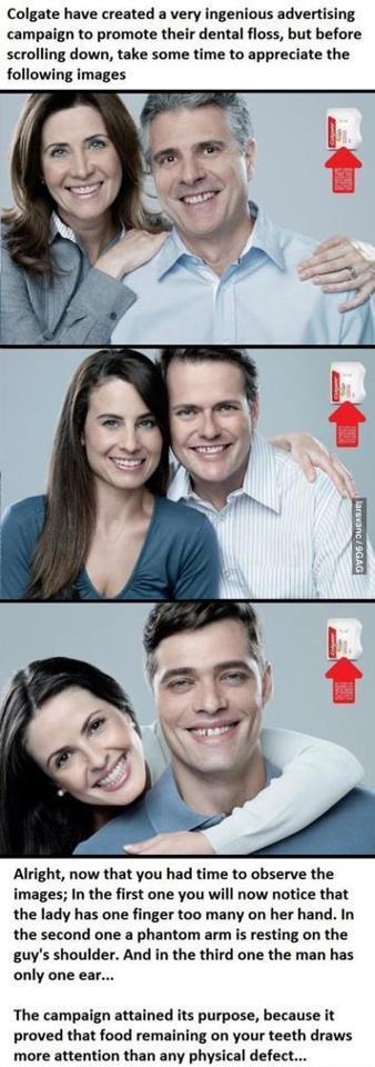 Kreatívna reklama - Colgate