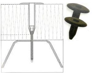 Łączniki teleskopowe do mocowania dachów płaskich