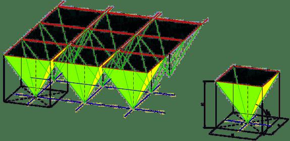 Przekrycia strukturalne. Typowa budowa