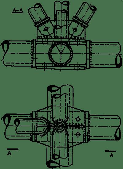 Detale rusztu ortogonalnego systemu Tridimatec