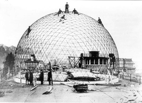 Pierwsza kopuła geodezyjna Carl Zeiss Jena (Bauersfeld, 1923)