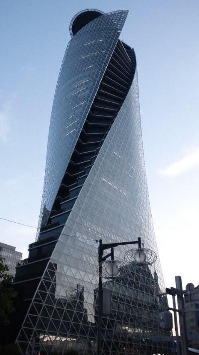 Nowoczesne powierzchnie złożone Spiral Tower Nagoya